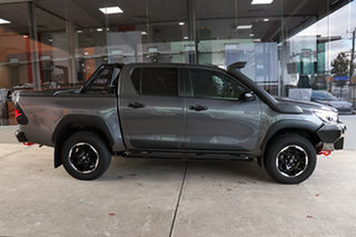 2019 Toyota Hilux GUN126R Rugged X Double Cab Graphite 6 Speed Sports Automatic Utility