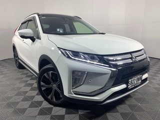 2018 Mitsubishi Eclipse Cross YA MY18 Exceed 2WD White 8 Speed Constant Variable Wagon.