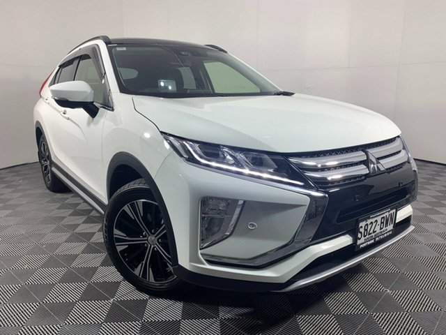 Used Mitsubishi Eclipse Cross YA MY18 Exceed 2WD Wayville, 2018 Mitsubishi Eclipse Cross YA MY18 Exceed 2WD White 8 Speed Constant Variable Wagon