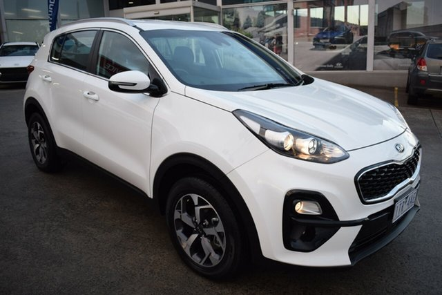 Used Kia Sportage QL MY21 S 2WD Ferntree Gully, 2020 Kia Sportage QL MY21 S 2WD Clear White 6 Speed Sports Automatic Wagon