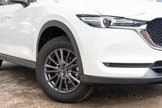 2020 Mazda CX-5 KF2W7A Maxx SKYACTIV-Drive FWD Sport White 6 Speed Sports Automatic Wagon.