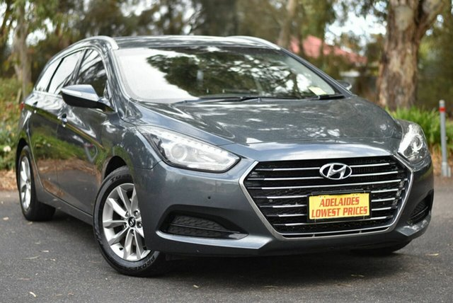 Used Hyundai i40 VF4 Series II Active Tourer D-CT Melrose Park, 2016 Hyundai i40 VF4 Series II Active Tourer D-CT Grey 7 Speed Sports Automatic Dual Clutch Wagon