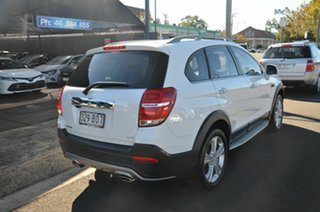 2014 Holden Captiva CG MY15 7 LTZ (AWD) White 6 Speed Automatic Wagon.