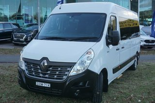 2017 Renault Master X62 Mid Roof LWB AMT White 6 Speed Sports Automatic Single Clutch Bus