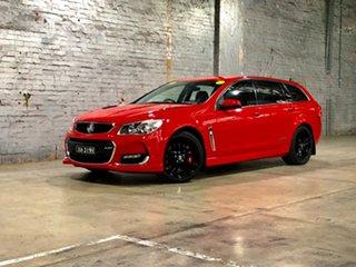 2016 Holden Commodore VF II MY16 SS V Sportwagon Redline Red 6 Speed Sports Automatic Wagon.