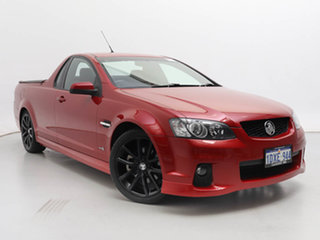 2011 Holden Commodore VE II SS-V Red 6 Speed Automatic Utility.