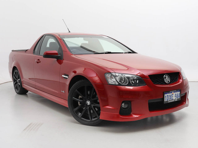Used Holden Commodore VE II SS-V, 2011 Holden Commodore VE II SS-V Red 6 Speed Automatic Utility