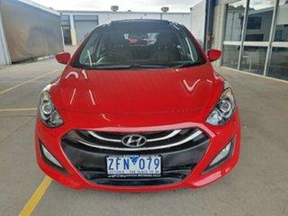 2012 Hyundai i30 GD Premium Red 6 Speed Sports Automatic Hatchback.