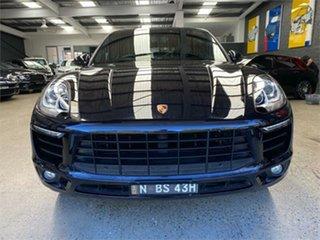 2015 Porsche Macan 95B S Diesel Black Sports Automatic Dual Clutch Wagon.