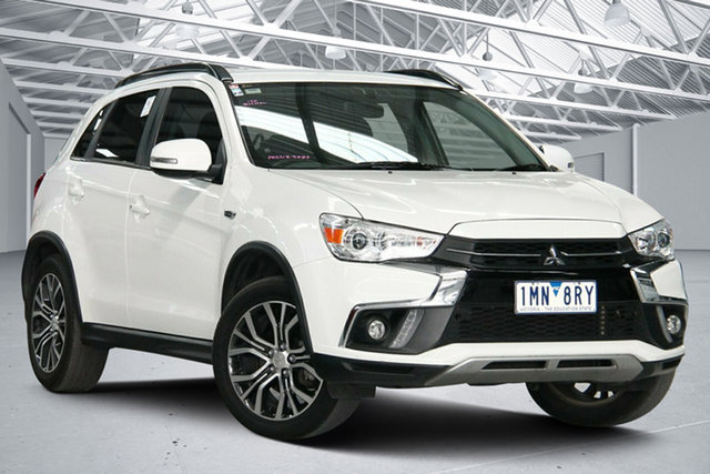 Used Mitsubishi ASX XC MY18 LS (2WD) Altona North, 2018 Mitsubishi ASX XC MY18 LS (2WD) White Continuous Variable Wagon