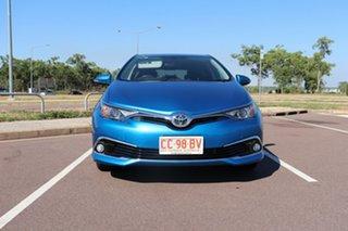 2017 Toyota Corolla ZRE182R Ascent Sport S-CVT Blue Gem 7 Speed Automatic Hatchback