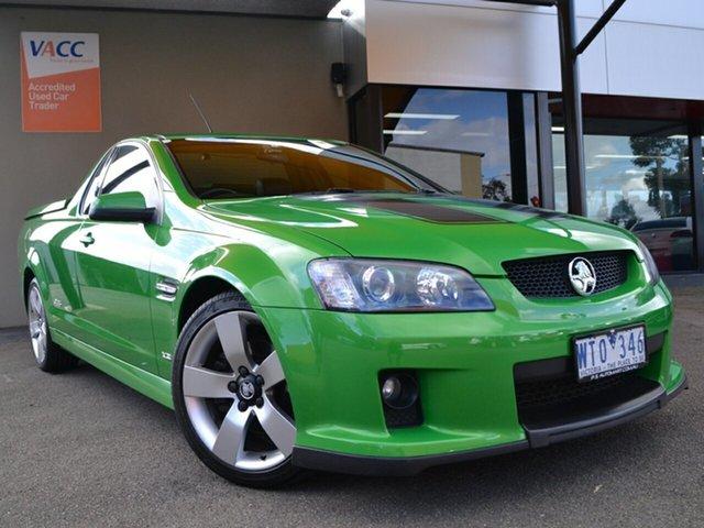 Used Holden Ute VE SS V Fawkner, 2008 Holden Ute VE SS V Green 6 Speed Manual Utility