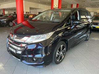 2014 Honda Odyssey RC MY14 VTi-L Black 7 Speed Constant Variable Wagon.