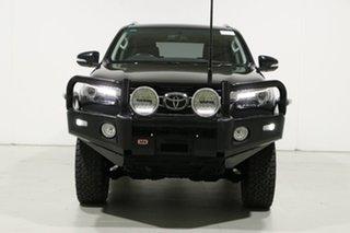 2016 Toyota Fortuner GUN156R Crusade Black 6 Speed Automatic Wagon.