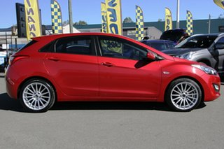 2014 Hyundai i30 GD2 Active Brilliant Red 6 Speed Sports Automatic Hatchback