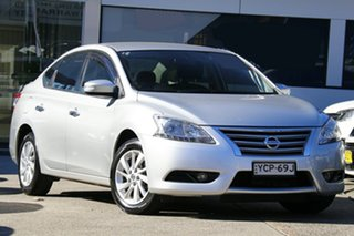 2015 Nissan Pulsar C12 Series 2 ST-L Brilliant Silver 1 Speed Constant Variable Hatchback.