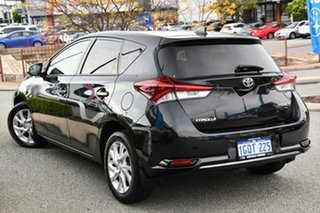 2015 Toyota Corolla ZRE182R Ascent Sport S-CVT Black 7 Speed Constant Variable Hatchback.