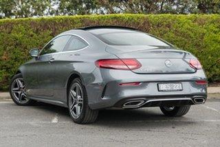 2020 Mercedes-Benz C-Class C205 800+050MY C200 9G-Tronic Selenite Grey 9 Speed Sports Automatic.