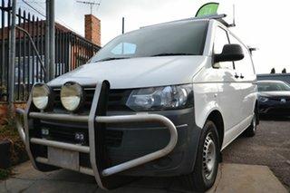 2012 Volkswagen Transporter T5 MY12 TDI 340 SWB Low White 7 Speed Auto Direct Shift Van.