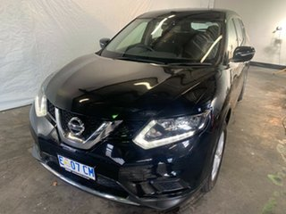 2014 Nissan X-Trail T32 ST 2WD Diamond Black 6 Speed Manual Wagon.
