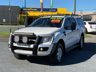 2011 Ford Ranger PX XL White 6 Speed Sports Automatic Utility.
