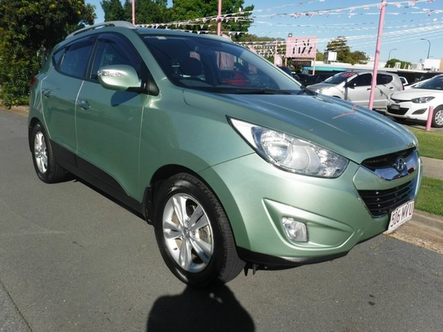 Used Hyundai ix35 LM Elite Margate, 2010 Hyundai ix35 LM Elite Green 5 Speed Automatic Hatchback