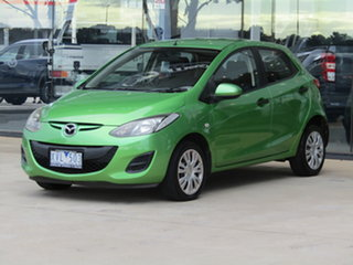 2010 Mazda 2 DE10Y1 Neo Green 4 Speed Automatic Hatchback.