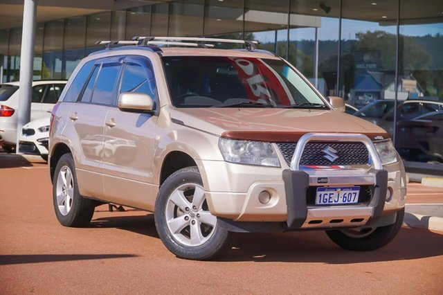 Used Suzuki Grand Vitara JB MY09 Gosnells, 2011 Suzuki Grand Vitara JB MY09 Beige 4 Speed Automatic Wagon