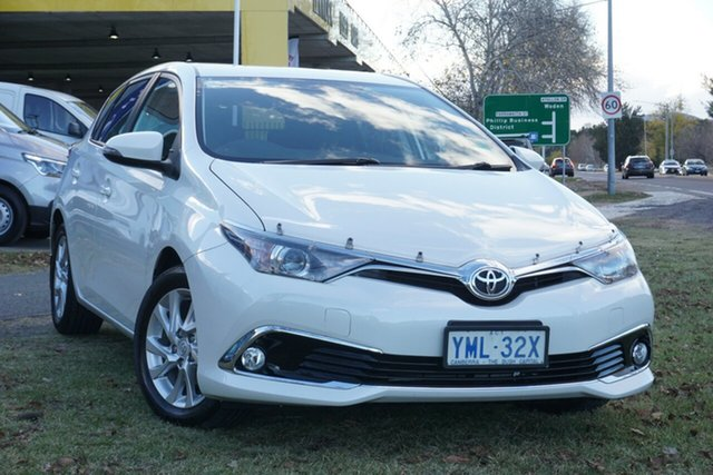 Used Toyota Corolla ZRE182R Ascent S-CVT Phillip, 2018 Toyota Corolla ZRE182R Ascent S-CVT White 7 Speed Constant Variable Hatchback