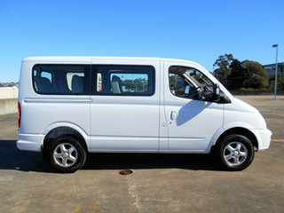 2015 LDV V80 Low Roof SWB White 6 Speed Automated Manual Bus.