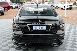 2011 Holden Special Vehicles Senator E Series 3 MY12 Signature Black/Grey 6 Speed Sports Automatic.