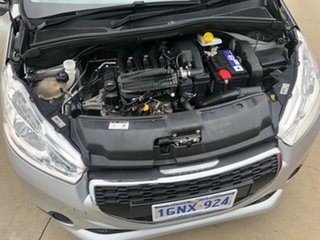 2014 Peugeot 208 Active Silver 5 Speed Manual Hatchback