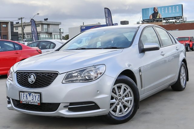 Used Holden Commodore VF MY15 Evoke Coburg North, 2015 Holden Commodore VF MY15 Evoke Silver 6 Speed Sports Automatic Sedan