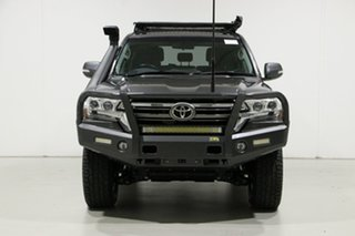 2017 Toyota Landcruiser VDJ200R MY16 GXL (4x4) Graphite 6 Speed Automatic Wagon.