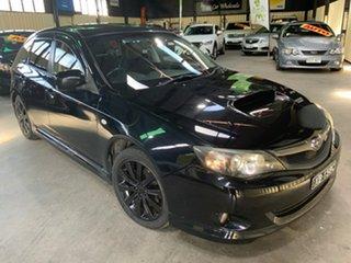 2009 Subaru Impreza MY10 WRX (AWD) Black 5 Speed Manual Hatchback.