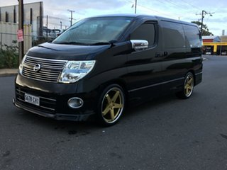 2008 Nissan Elgrand E51 Highway Star Black Pearlescent 5 Speed Automatic Wagon