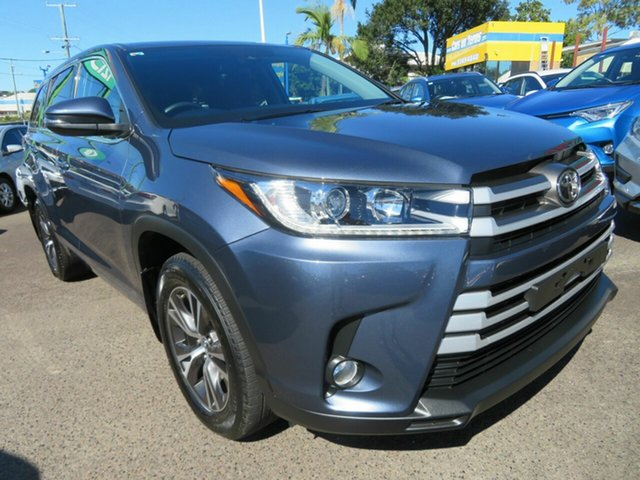 Used Toyota Kluger GSU55R GX AWD Mount Gravatt, 2019 Toyota Kluger GSU55R GX AWD Blue 8 Speed Sports Automatic Wagon