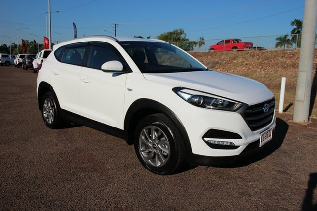 Pre-Owned Hyundai Tucson TL MY17 Active X 2WD Darwin, 2017 Hyundai Tucson TL MY17 Active X 2WD White 6 Speed Sports Automatic Wagon