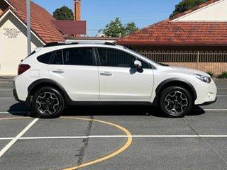 2014 Subaru XV G4X MY14 2.0i-S AWD White 6 Speed Manual Wagon.