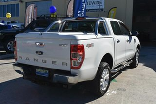 2014 Ford Ranger PX XLT 3.2 (4x4) White 6 Speed Automatic Dual Cab Utility.