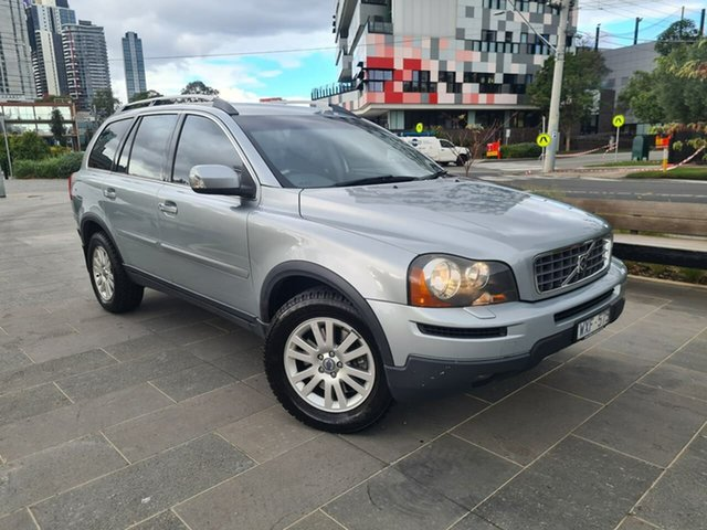 Used Volvo XC90 P28 MY09 D5 South Melbourne, 2009 Volvo XC90 P28 MY09 D5 Grey 6 Speed Sports Automatic Wagon