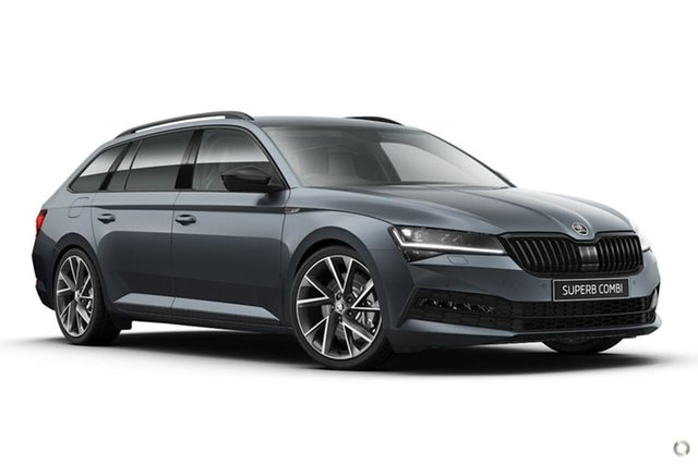 New Skoda Superb NP MY21 206TSI DSG SportLine Seaford, 2020 Skoda Superb NP MY21 206TSI DSG SportLine Grey 6 Speed Sports Automatic Dual Clutch Wagon