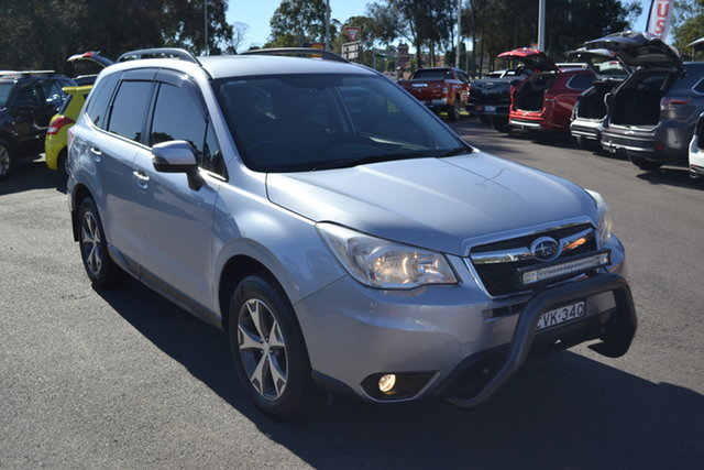 Used Subaru Forester S4 MY14 2.5i Lineartronic AWD Luxury Maitland, 2014 Subaru Forester S4 MY14 2.5i Lineartronic AWD Luxury Silver 6 Speed Constant Variable Wagon