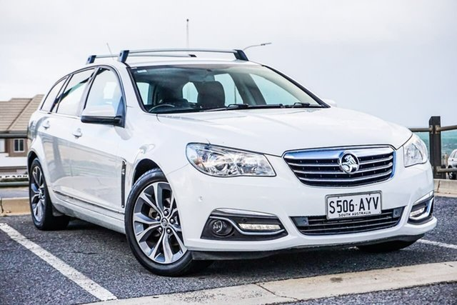 Used Holden Calais VF MY14 Sportwagon Christies Beach, 2013 Holden Calais VF MY14 Sportwagon White 6 Speed Sports Automatic Wagon