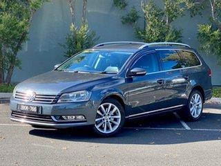 2011 Volkswagen Passat Type 3C MY11 125TDI DSG Highline Grey 6 Speed Sports Automatic Dual Clutch.