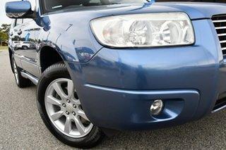 2007 Subaru Forester 79V MY07 XS AWD Newport Blue Pearl 4 Speed Automatic Wagon.