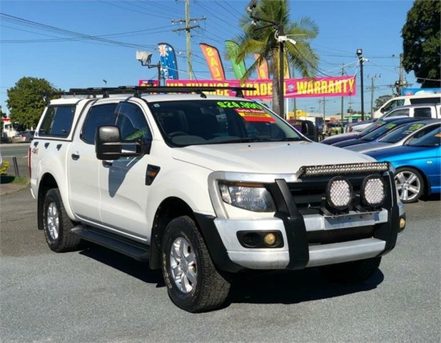 Used Ford Ranger PX XL Archerfield, 2011 Ford Ranger PX XL White 6 Speed Sports Automatic Utility