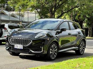 2020 Ford Puma JK 2021.25MY ST-Line V Black Metallic 7 Speed Sports Automatic Dual Clutch Wagon.