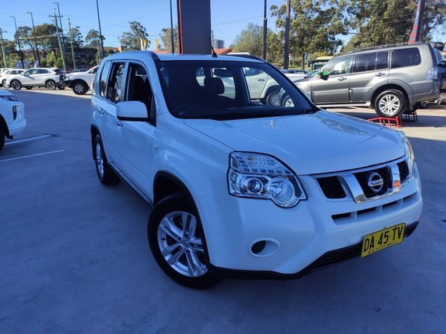 Used Nissan X-Trail T31 Series V ST 2WD Liverpool, 2013 Nissan X-Trail T31 Series V ST 2WD White 1 Speed Constant Variable Wagon