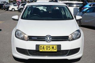 2011 Volkswagen Golf VI MY11 BlueMOTION White 5 Speed Manual Hatchback.